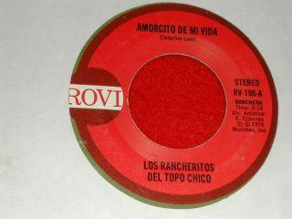 LOS RANCHERITOS DEL TOPO CHICOAMORCITO DE MI VIDALatino ROVI 45