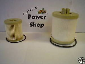 03 07 Ford Powerstroke 6.0 Fuel Filters   Includes both upper and