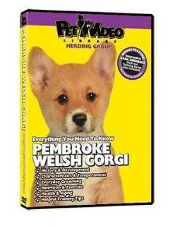pembroke welsh corgi puppy dog care training dvd time left