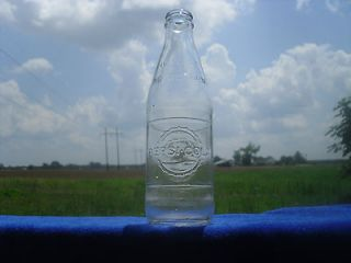 Vintage 1960s Pepsi Cola Bottle Embossed No Deposit poptop Rare Soda