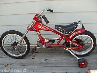 schwinn occ orange count chopper stingray chopper bicycle time left
