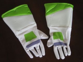 Official Disney Store BUZZ LIGHTYEAR Costume GLOVES BRAND NEW Child Sz