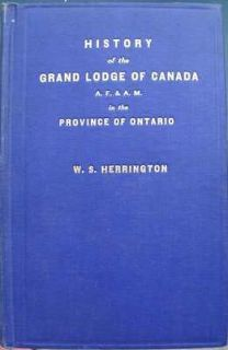ONTARIO GRAND LODGE MASONIC ITEMS  APRONS, SASH, CERTIFICATE, BOOK