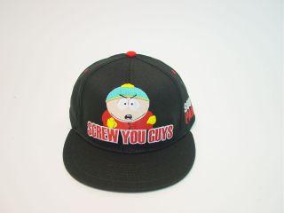 South Park Cartman Screw You Guys Baseball Cap Hat Licensed Nintendo
