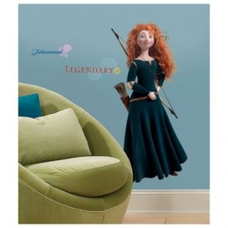 Brave   Merida Peel & Stick Giant Removable Kids Wall Decal Sticker