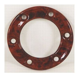 baja boat steering wheel hub bezel ring wood grain time