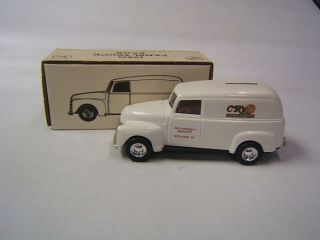 ertl chevrolet 1950 panel truck cr s friendly markets time