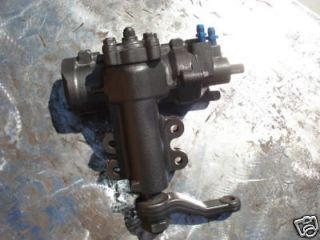 66 77 early ford bronco rockcrawler power steering box time