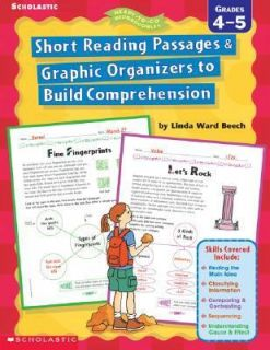 Short Reading Passages and Graphic Organizers to Build Comprehension