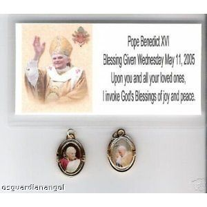 pope john paul ii medal in Religion & Spirituality