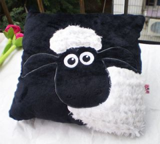 Specail gift NICI White Shaun Sheep Black Pillow/Cushion 35*35CM