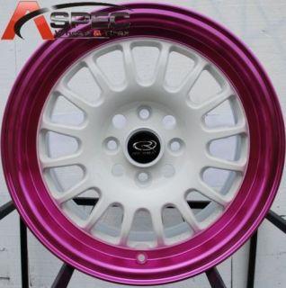 15 rota track r wheels 4x100 rim integra cobalt colt