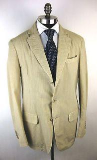 PAUL & SHARK Yachting Italy Cotton Seersucker Coat Jacket 48 38 40 M