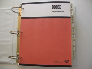 case 450 crawler backhoe dozer service repair manual very nice