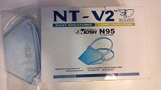NT V2 N95 FACE MASK/FILTER PASTURE PHARMA ADVANCED ANTI AIRBORNE
