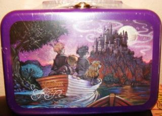 RARE HOGWARTS HARRY POTTER MINI LUNCHBOX TIN MINT SEALED BAG