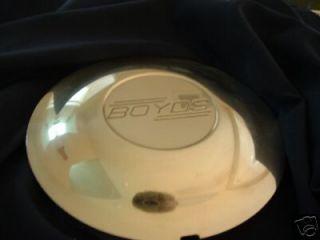 genuine Boyd Coddington Hot Rod billet aluminum wheel center