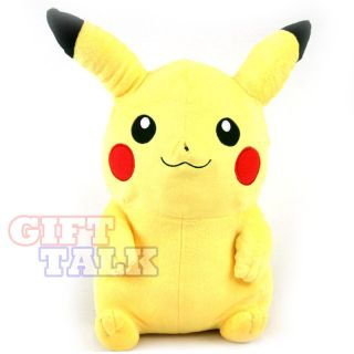 Pokemon Pikachu Plush Bag Backpack Rucksack Doll Figure Toy 13