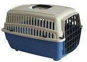 6pk)Small Blue Pet Carrier for small cats, small dogs, guinea pigs