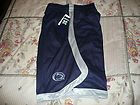 PENN STATE NITTANY LIONS MENS SMALL DARK BLUE JOGGING SHORTS NEW WITH
