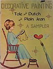 tole dutch plain jean decorative painting patterns samp buy it