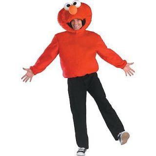 Adult 42 47 Mens TV Show Sesame Street Elmo Tickle Me Dress Up Costume