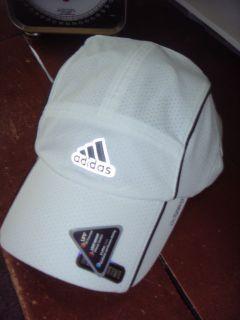ADIDAS Adizero Trainer Cap/Hat White/black   NEW   Adjustable   NEW