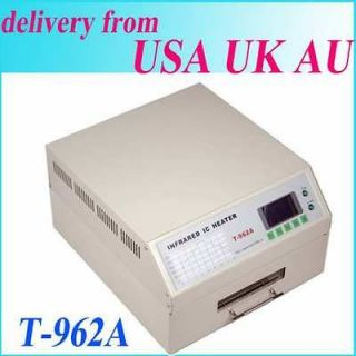 UPDATED T962A SMD BGA INFRARED IC HEATER REFLOW WAVE OVEN MACHINE 300
