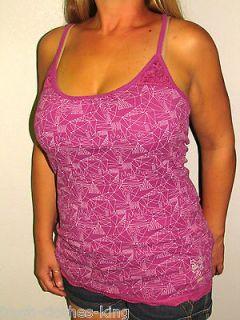 zoo york womens saturn cami tank top shirt choose size