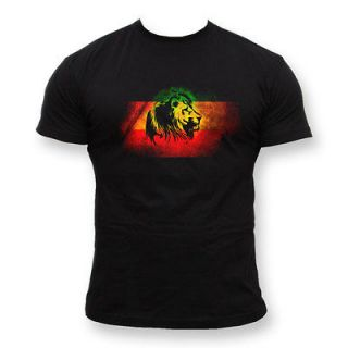 shirt Lion Reggae Jamaica Smoking Spliff Cannabis Marijuana Rasta