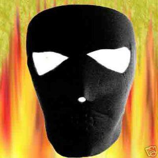 Ski Warm New Smoking Smiley Black Reversiable Neoprene Full Face Mask
