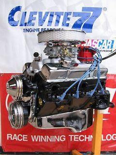 CHEVROLET 383 / 360 HP HIGH PERFORMANCE 4 BOLT TURN KEY CRATE ENGINE