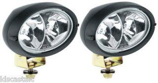 Oval 100 Double Beam Work Lamp (Long Range) 12 volt driving light