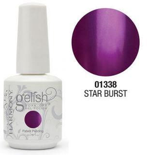metallic purple nail polish