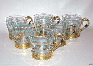 pine cone glasses in Pottery & Glass