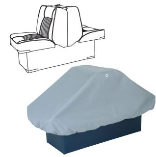 back to back pontoon boat seat cover 50 x22 x22