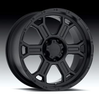 20 V TEC 372 5X150 LX470 LX570 SEQUOIA TUNDRA TRD BLACK WHEELS RIMS