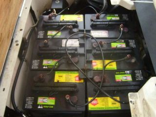 refurbish fix repair renew golf cart battery batteries time left