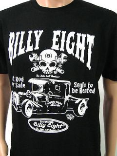 BILLY EIGHT SIZE M HOT ROD SKULL LOWRIDER MUSCLE CUSTOM CAR ROADSTER