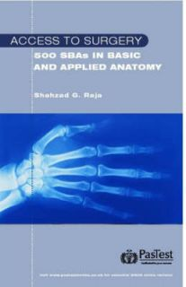 Questions in Applied Anatomy by Shahzad Raja Paperback, 2007