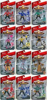 POWER RANGERS SAMURAI LOT OF 12 FIGURES MIGHTY MORPHIN MMPR 2011