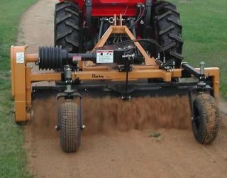 Landscape Rake for 3 PT Hitch Tractor 84 with Wheels