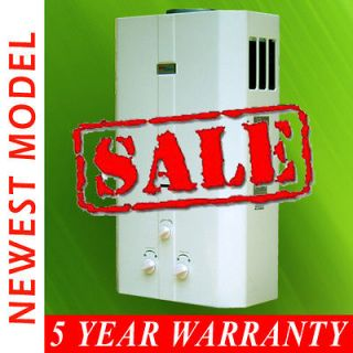 BRAND NEW LPG PROPANE GAS TANKLESS WATER HEATER 16L, 4.23GPM