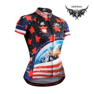 FIXGEAR womens cycling jersey top gear tight road bike shortsleeve