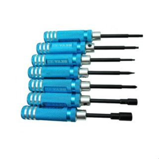 7PCS Hex RC helicopter plane Car screw driver tool kit