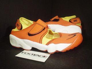 2003 nike air rift orange flash black yellow ds 6 5 5