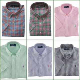 NWT Polo Ralph Lauren short sleeve shirt with logo, $85 MSRP