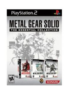 Metal Gear Solid The Essential Collection Edition Sony PlayStation 2