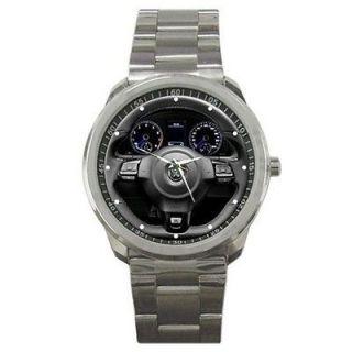 2012 Volkswagen Scirocco R Steering Wheel Sport S/Steel Metal Watch