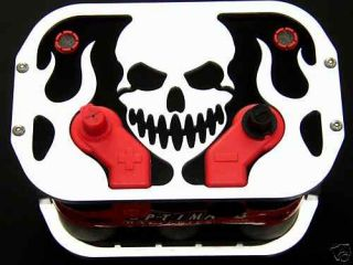 rat rod optima battery tray box bracket skull 34 78